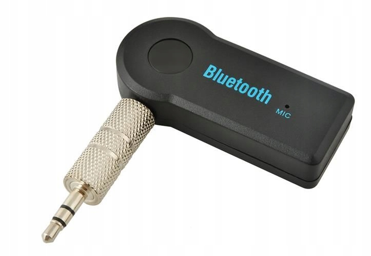 Mini Bluetooth Audio prijímač do auta hands-free 2v1