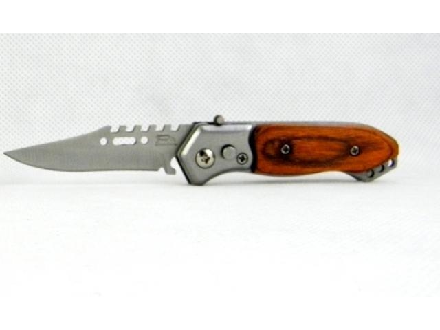 Kapesní skládací nůž zavírací nožík na hřiby 14 cm