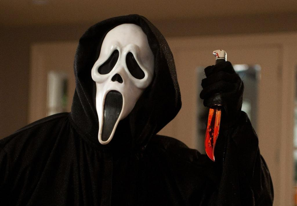 Maska scary movie halloween ghostface scream