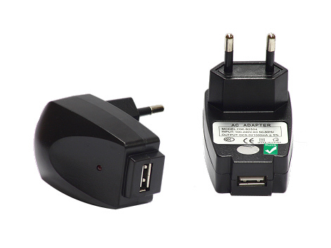 ADAPTER-NABIJAČKA 230V/USB pre GSM MP3,MP4, GPS